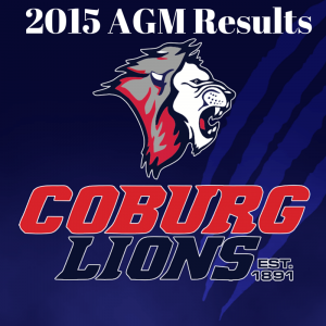 2015 AGM Results