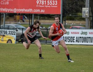 Fox's form late in 2015 was crucial towards Coburg's late charge towards the finals.